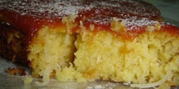 receita bolo de coco com batata doce