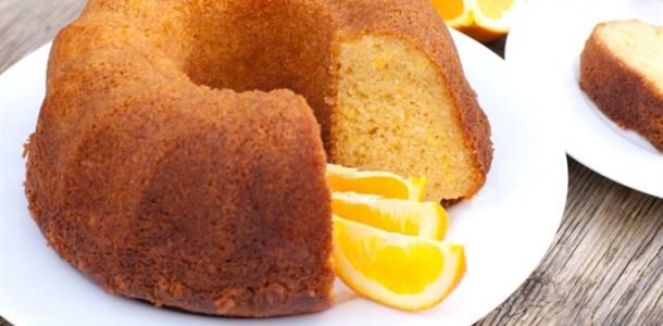 receita bolo de laranja cremoso