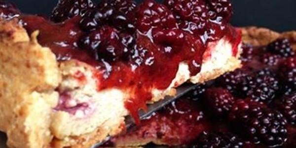 receita cheesecake de frutas vermelhas vegano