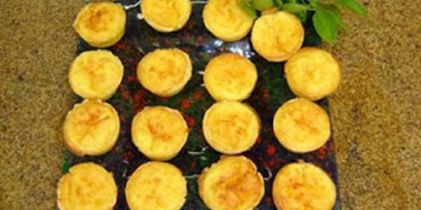 receita empadinhas abertas de queijo