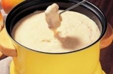 receita fondue de queijo fácil