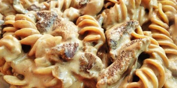 receita massa integral ao funghi