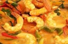 receita moqueca de camarão fácil