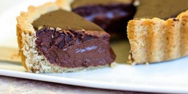 receita torta mousse de chocolate vegano