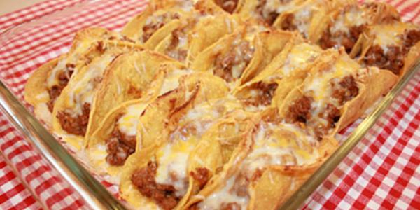 receita tacos assados