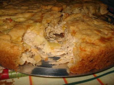 receita torta de frango com requeijão