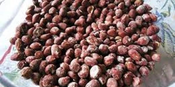 receita amendoim salgado de microondas