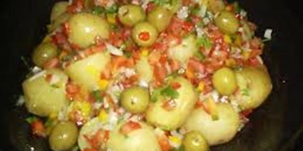 receita batatinhas à vinagrete
