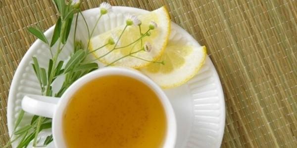 receita chá de cidreira com limão