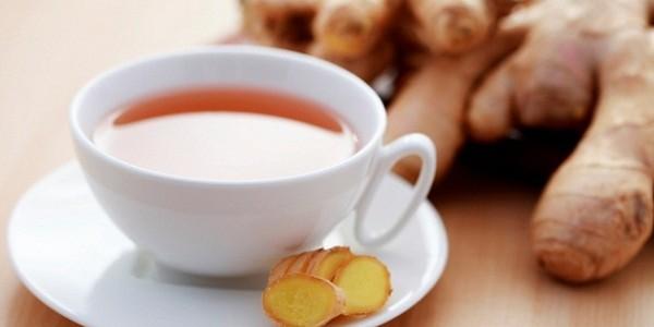 receita chá de gengibre
