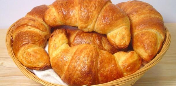 receita croissant fácil