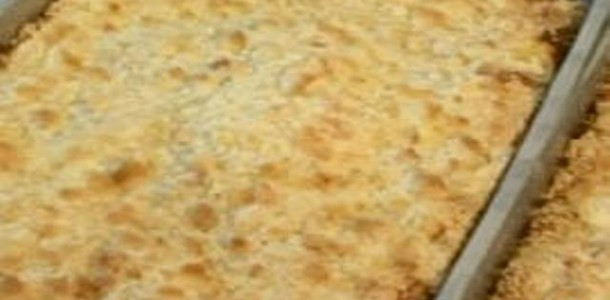 Receita Cuca Salgada de Frango