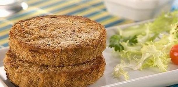 Receita Hambúrguer Caseiro de Carne com Cenoura