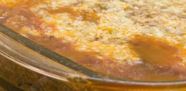 receita lasanha de berinjela à bolonhesa