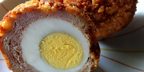 receita ovo escocês