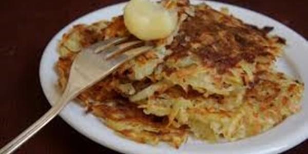 receita panquecas de batata