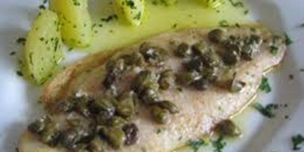 receita peixe ao molho alcaparra