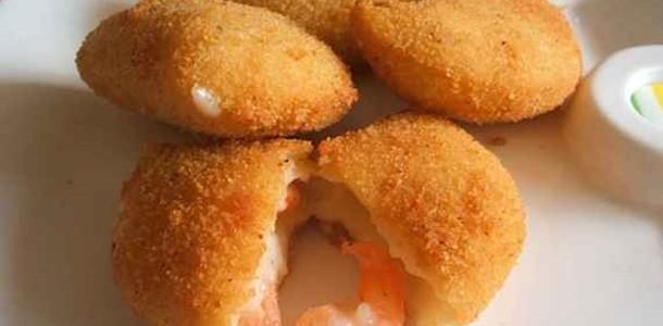 receita risoles de camarão