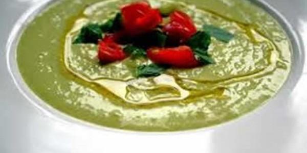 receita sopa de abacate