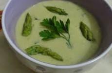 receita sopa de aspargos
