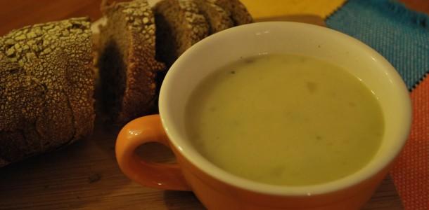 Receita Sopa de Batata