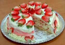 receita torta doce de morango