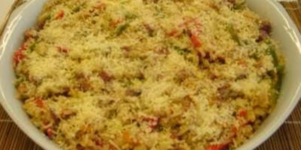 receita arroz com atum light