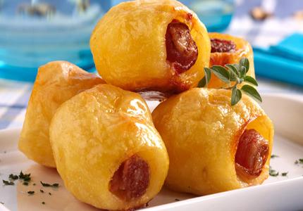 receita batata assada com bacon
