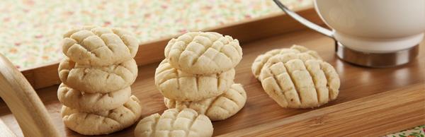 receita biscoitos amanteigados de limão