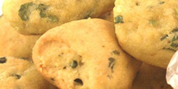 receita biscoitos de cebolinha verde