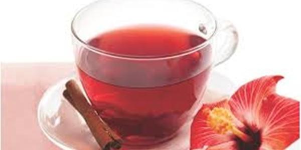 receita chá de hibisco