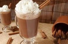 receita chocolate quente com conhaque
