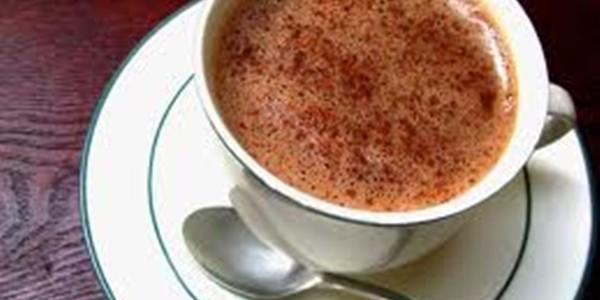 receita chocolate quente de microondas
