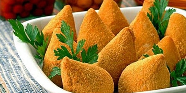 receita coxinhas de mandioca