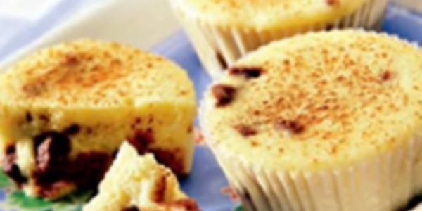 receita muffins com chocolate