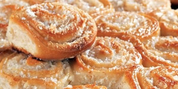 receita pão doce de coco