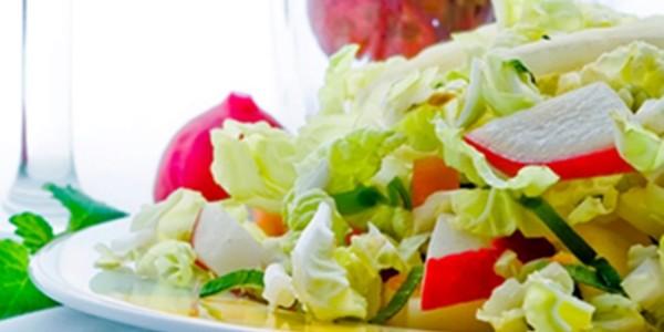 receita salada colorida light