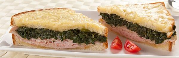 receita sanduíche quente