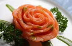 receita sashimi de salmão
