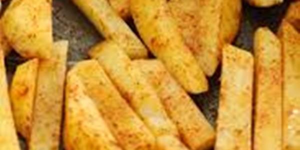 receita batata frita de forno..