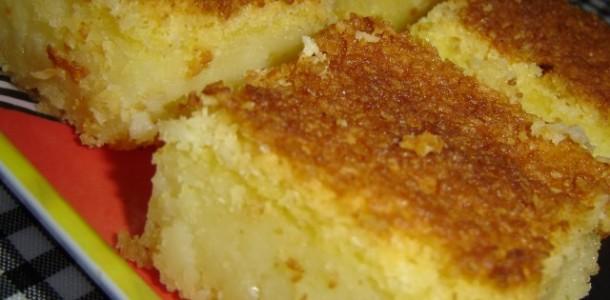 receita bolo de maizena e queijo