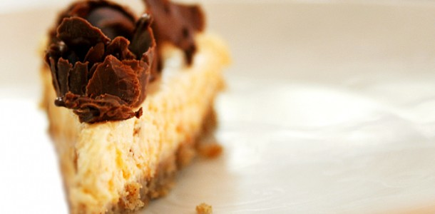 receita cheesecake de abóbora e chocolate
