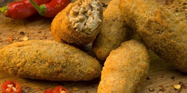 receita croquete de carne e pimenta