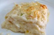 receita lasanha quatro queijos