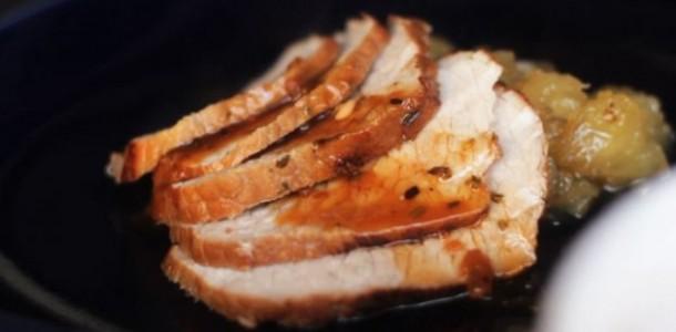 Receita Picanha Suína com Geleia de Abacaxi