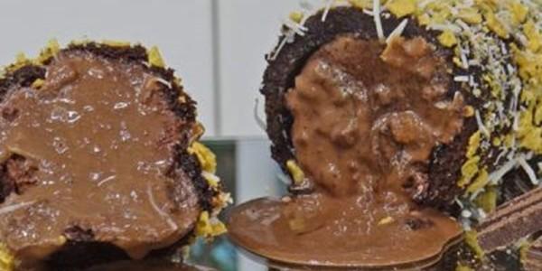 receita rocambole recheado com sorvete