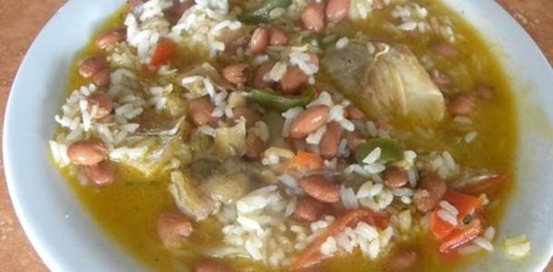 receita sopa de bacalhau com feijão