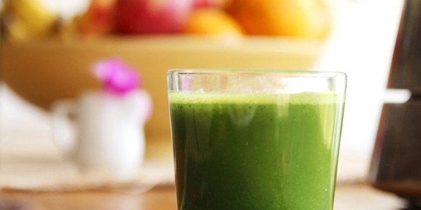 receita suco verde com tangerina