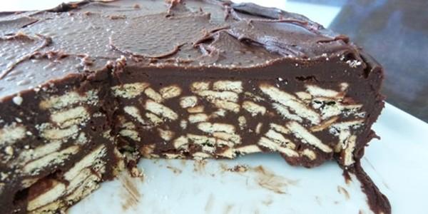 receita torta de biscoito e nutella