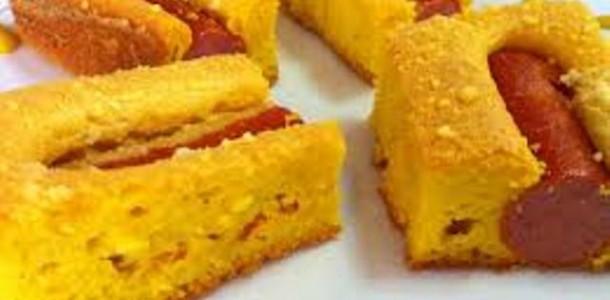receita torta de salsicha e cenoura